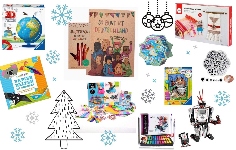 Kreative Geschenkideen für Kinder zu Weihnachten.